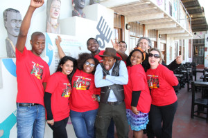 The Jive team with iFani