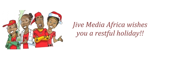 Jive Africa wishes you a restful holiday season!