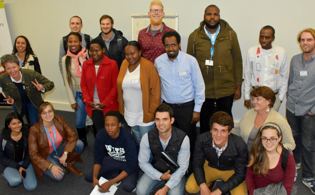 Jive Media Africa provided practical science communication training for researchers from University of Witwatersrand's Centres of Excellence