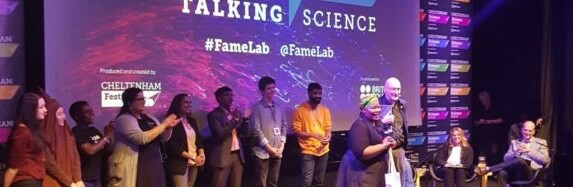 First African winner of FameLab science communication competition