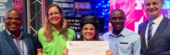 "International ""talking science"" competition picks its South African winner"