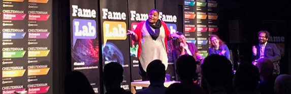 Talking science? FameLab 2018 is here!