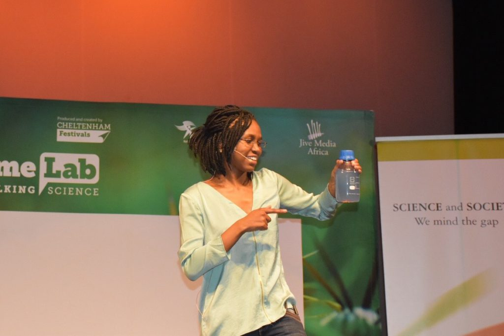 Wits FameLab SA Winner, Lungile Khambule presents her science