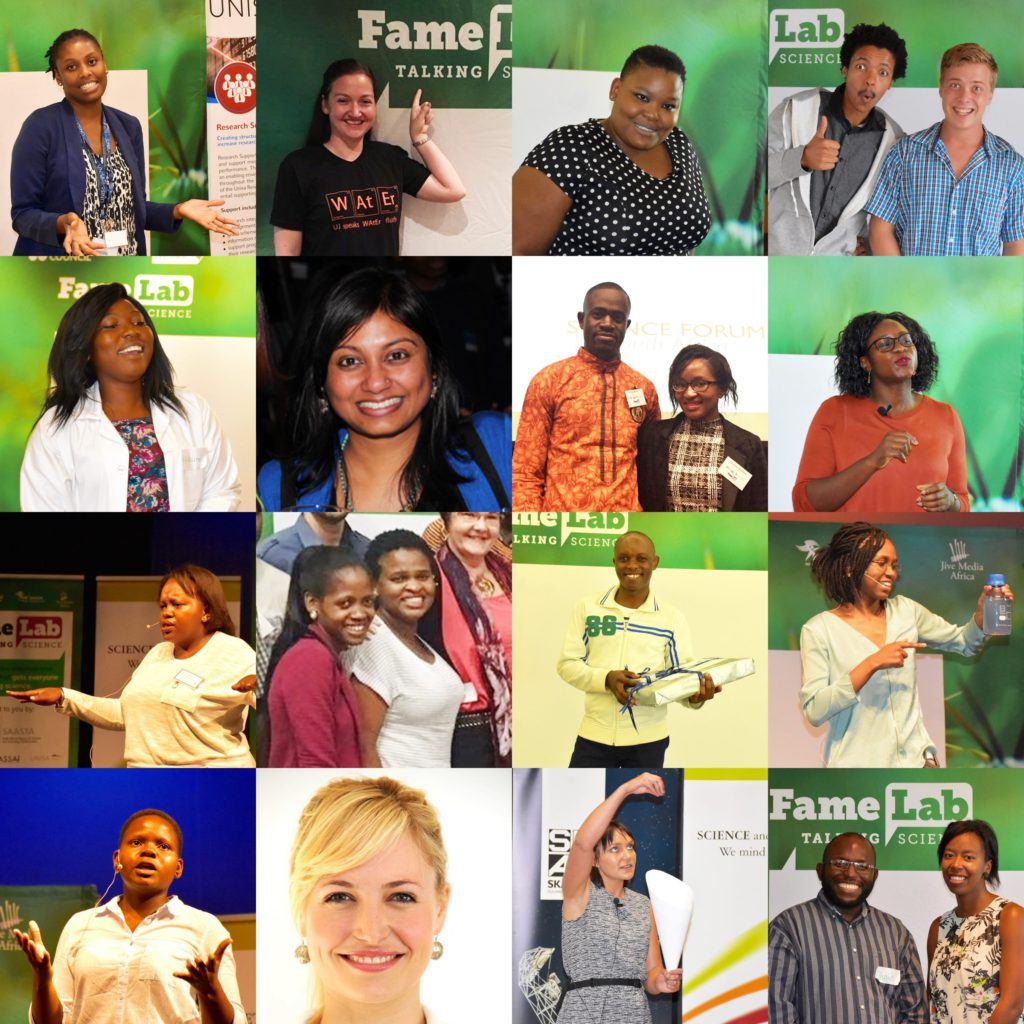 Congratulations to all the FameLab SA 2017 semi-finalists – it has been a privilege to work with you!